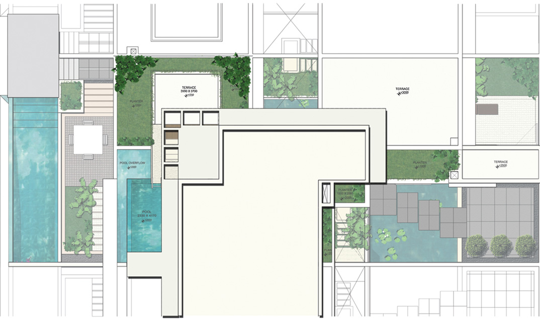 terrace housing floor plans house of sles
